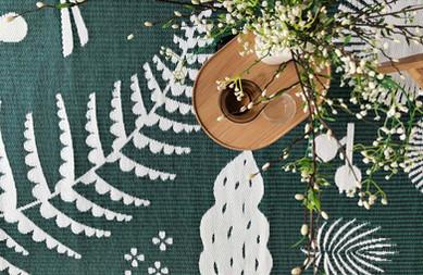 Hortus weaving detail