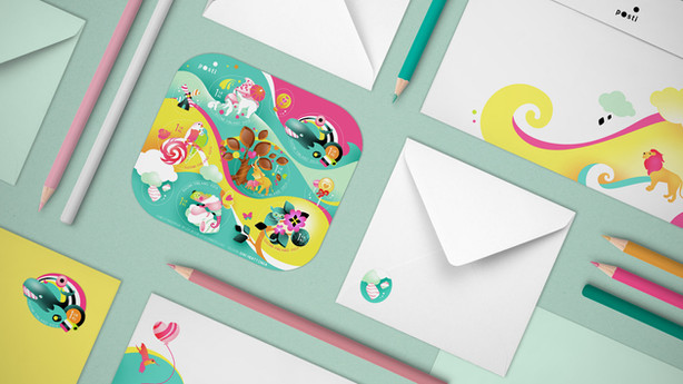 Valentine's Postage Stamps