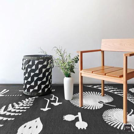 Hortus rug and Stride basket