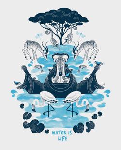 Waterhole illustration