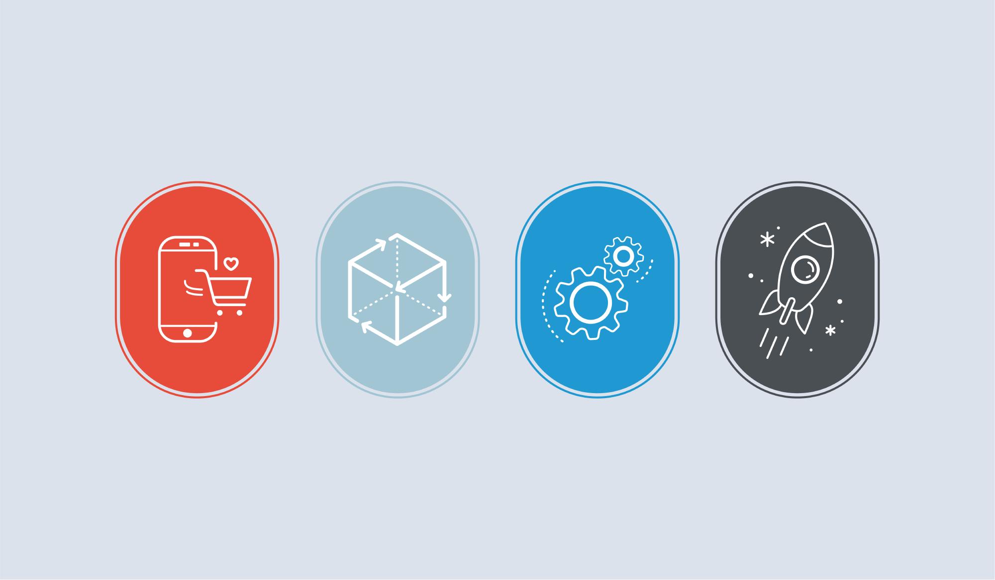 Polea services icon design