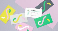 Happy Textiles business card design