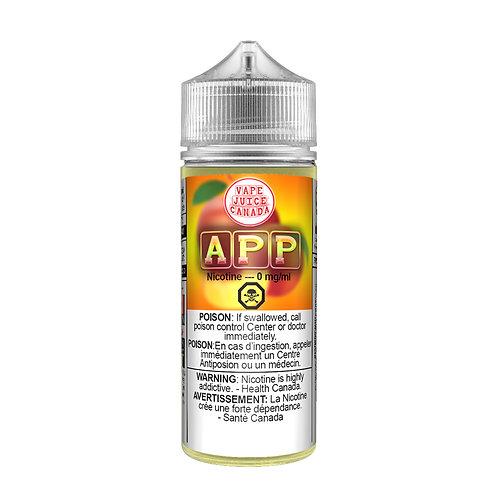 APP - Peach & Apple