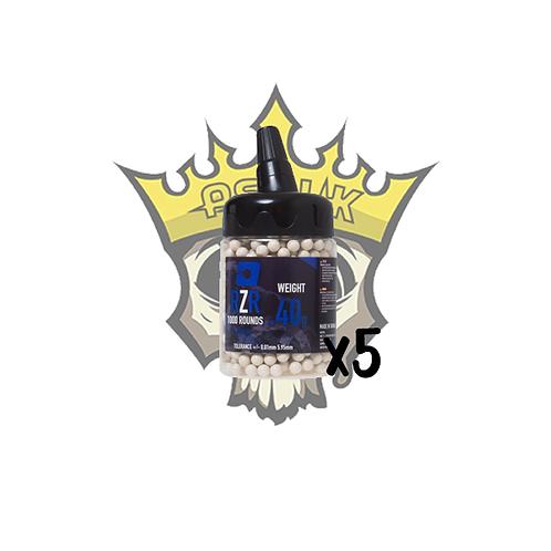 NUPROL RZR 0.40g Precision BB x1000 x5