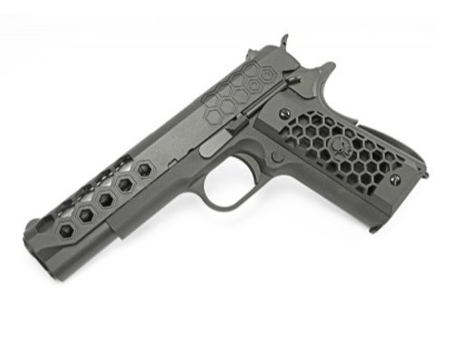 WE 1911 Hex Cut GBB Pistol