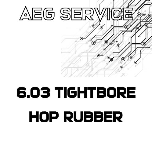 AEG TIGHTBORE BARREL + HOP RUBBER