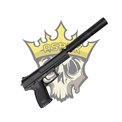 ASG MK23 SOCOM AIRSOFT PISTOL WITH SILENCER