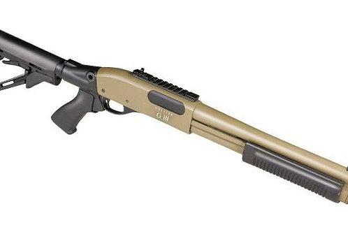 Secutor M870 Vellite Gas Shotgun G-III (TAN)