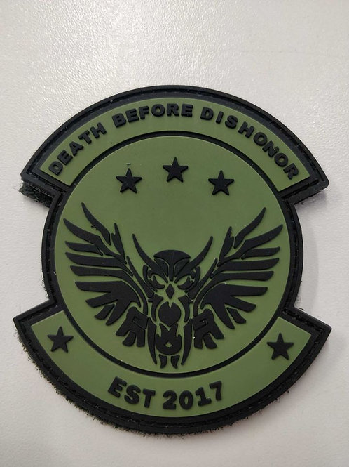 Operation Black Owl logo patch