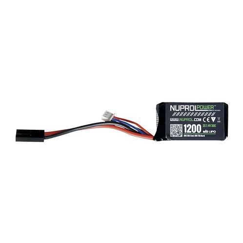 NP Power 1200MAH 7.4V 30C Lipo Stick Type