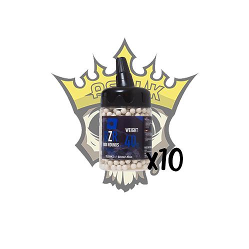 NUPROL RZR 0.40g Precision BB x1000 x10