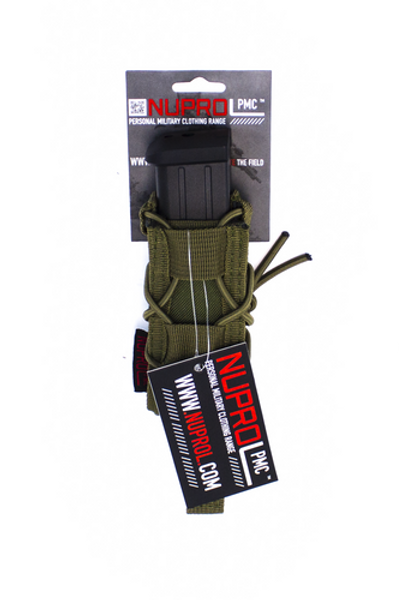 NUPROL PMC PISTOL OPEN TOP POUCH - GREEN