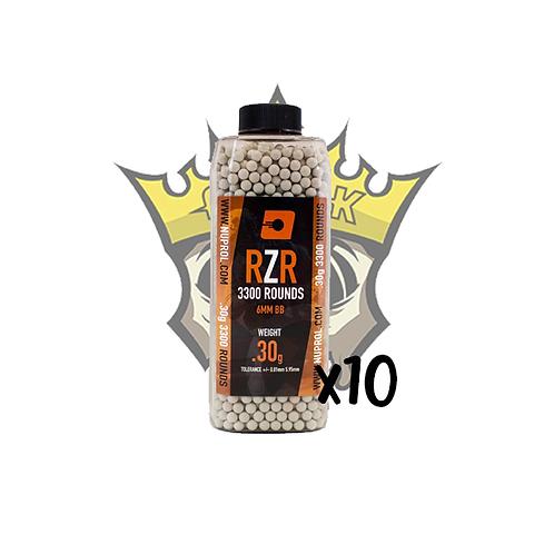 NUPROL RZR 0.30g Precision BB x3300 x10