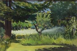 Summer garden oil 38x26