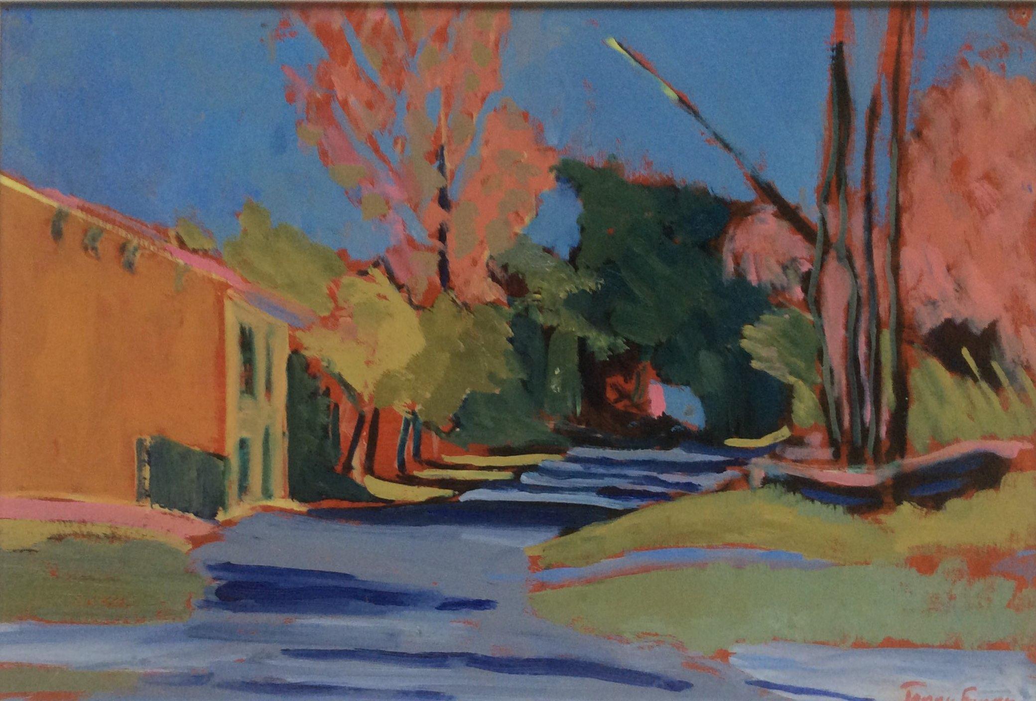 Hot landscape oil 43x29