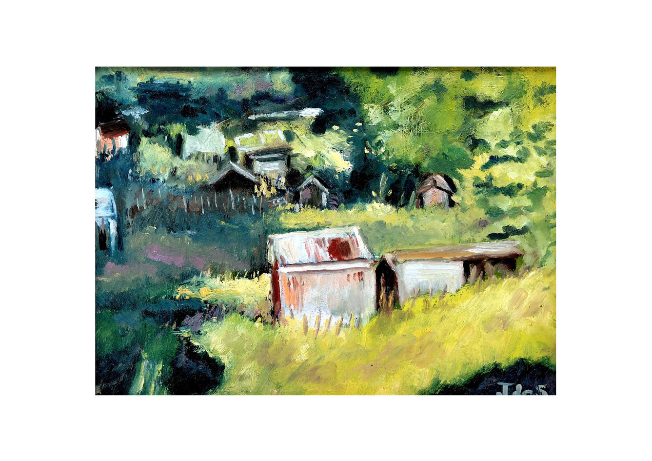 Allotment Sheds 15x12 oil