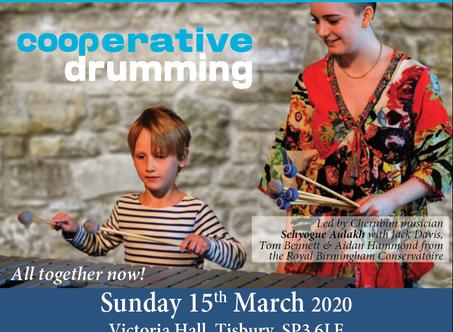 Drumming morning workshop sold out