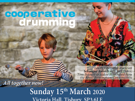 Drumming morning workshop sold out