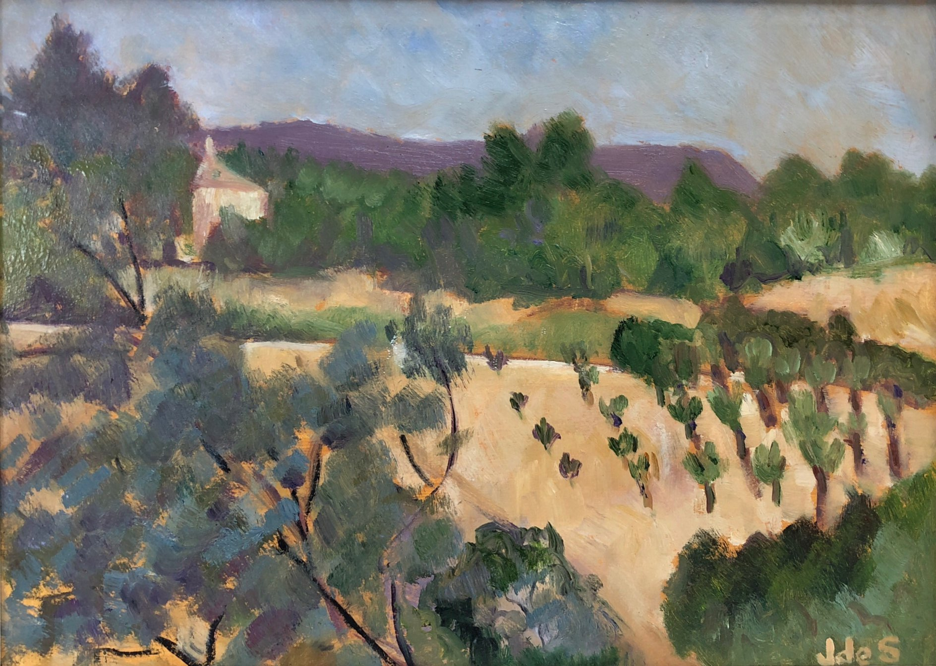 Olive Trees in Provence Oil 22x30