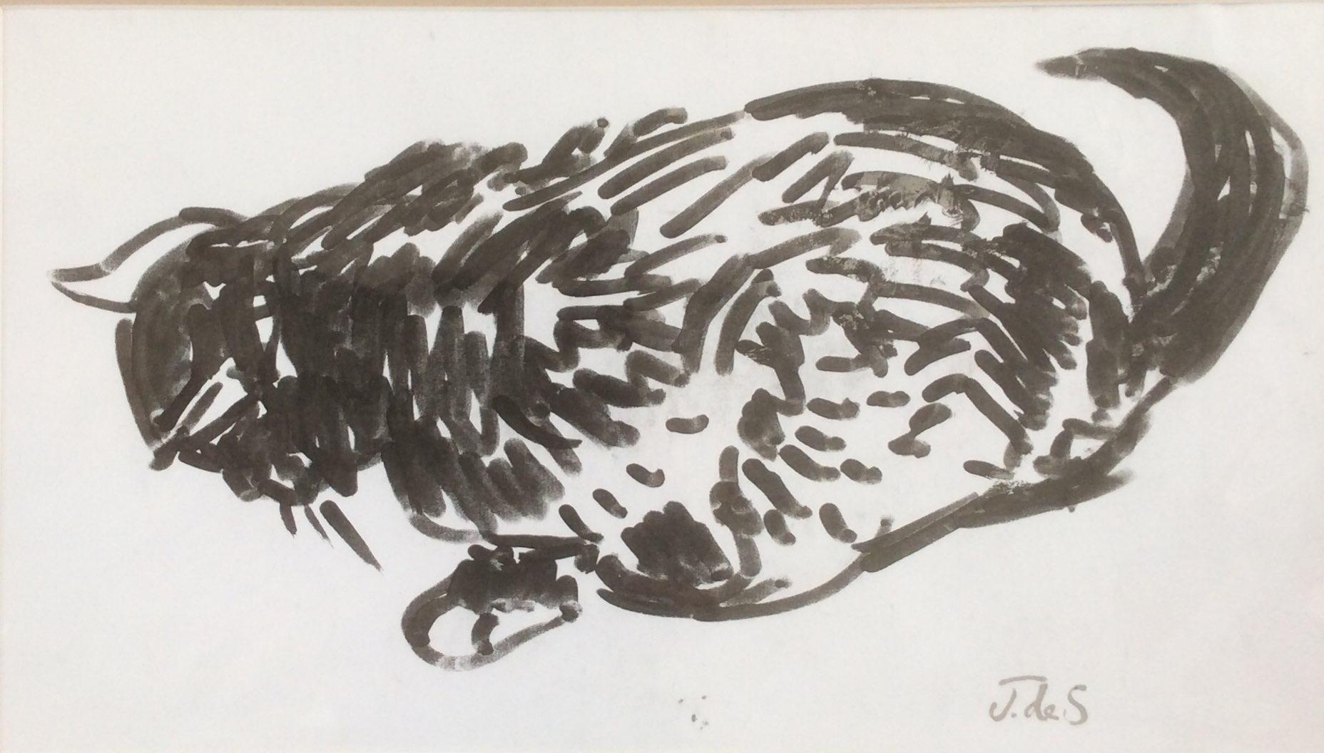Catnap ink 42x25