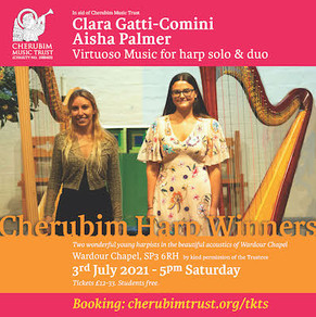 Tickets now available for the Harp Winners Concert in Wardour Chapel