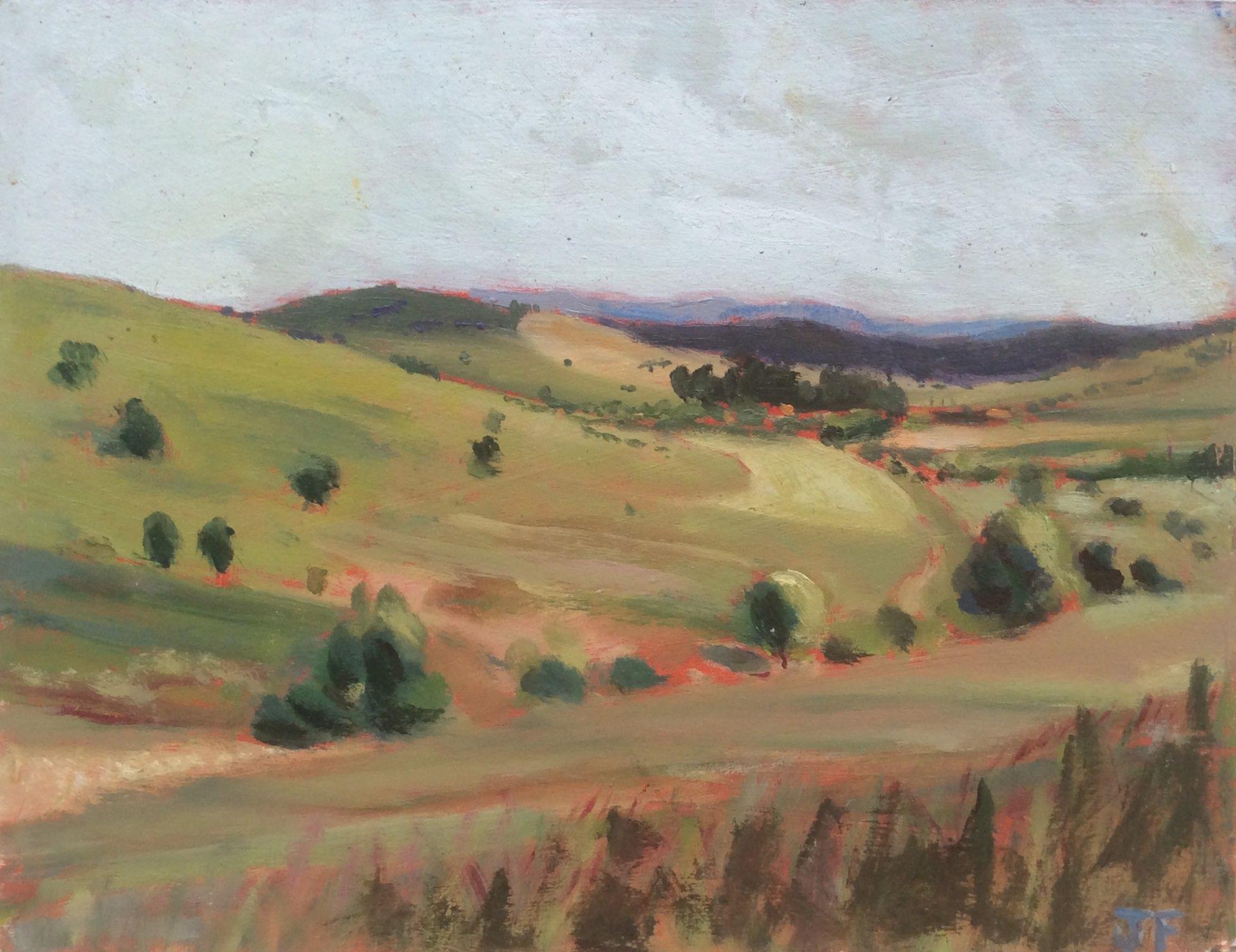 Transylvania oil 25x19