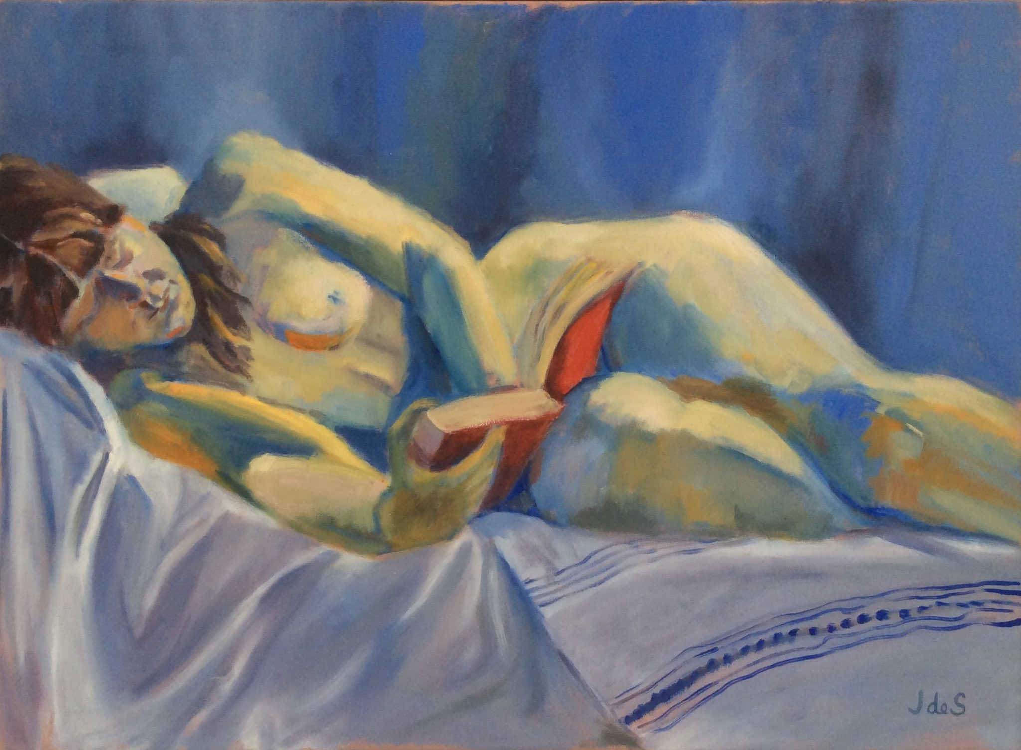 A good read oil 70x50