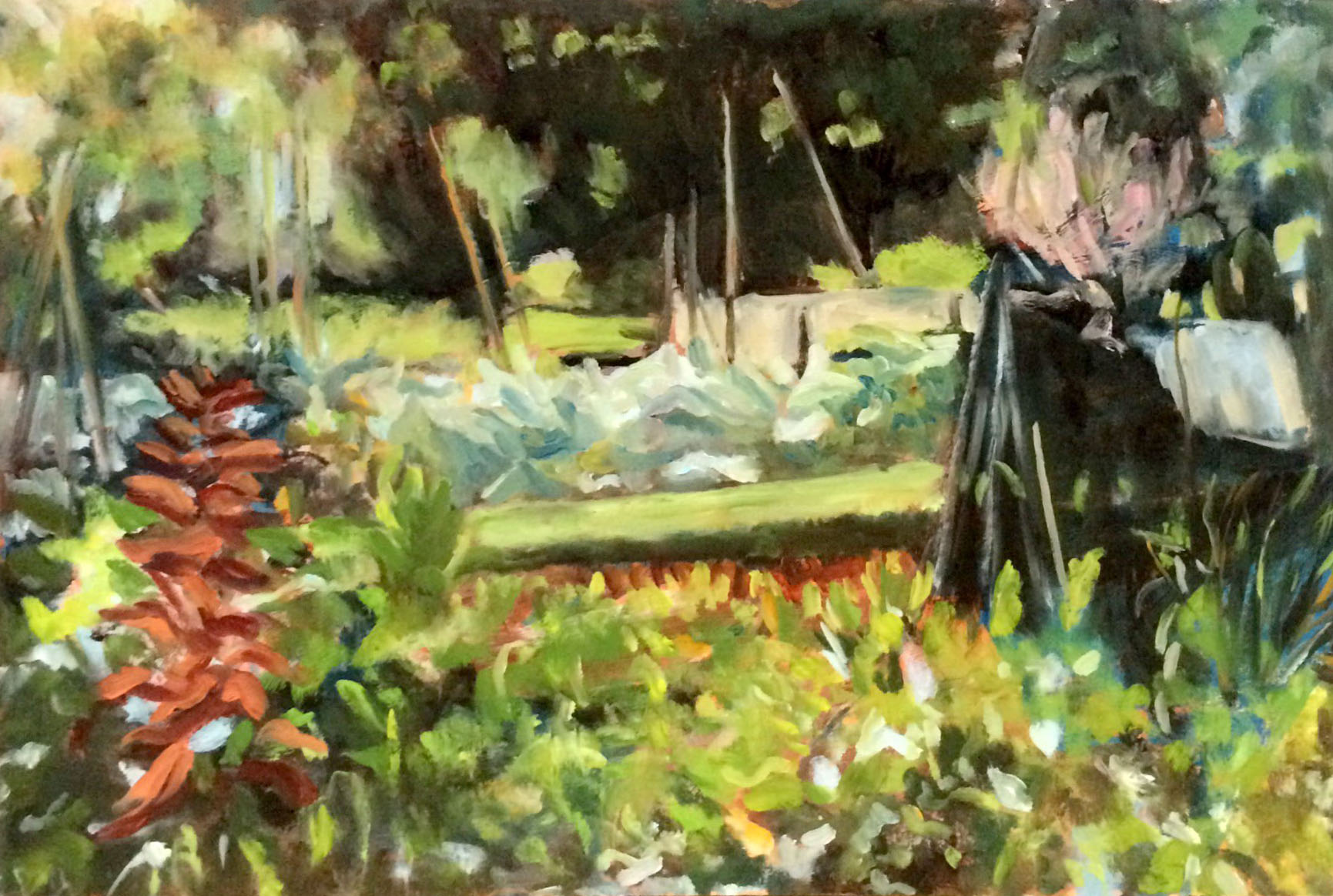 Allotment oil 46.5x32