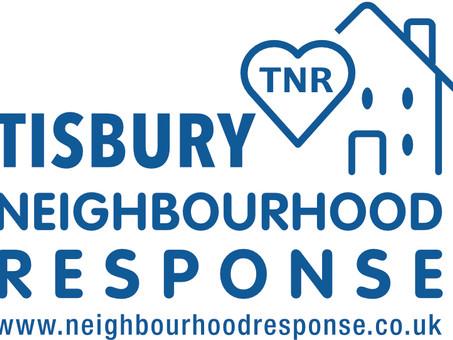 Helping out Tisbury Neighbourhood Response (TNR)