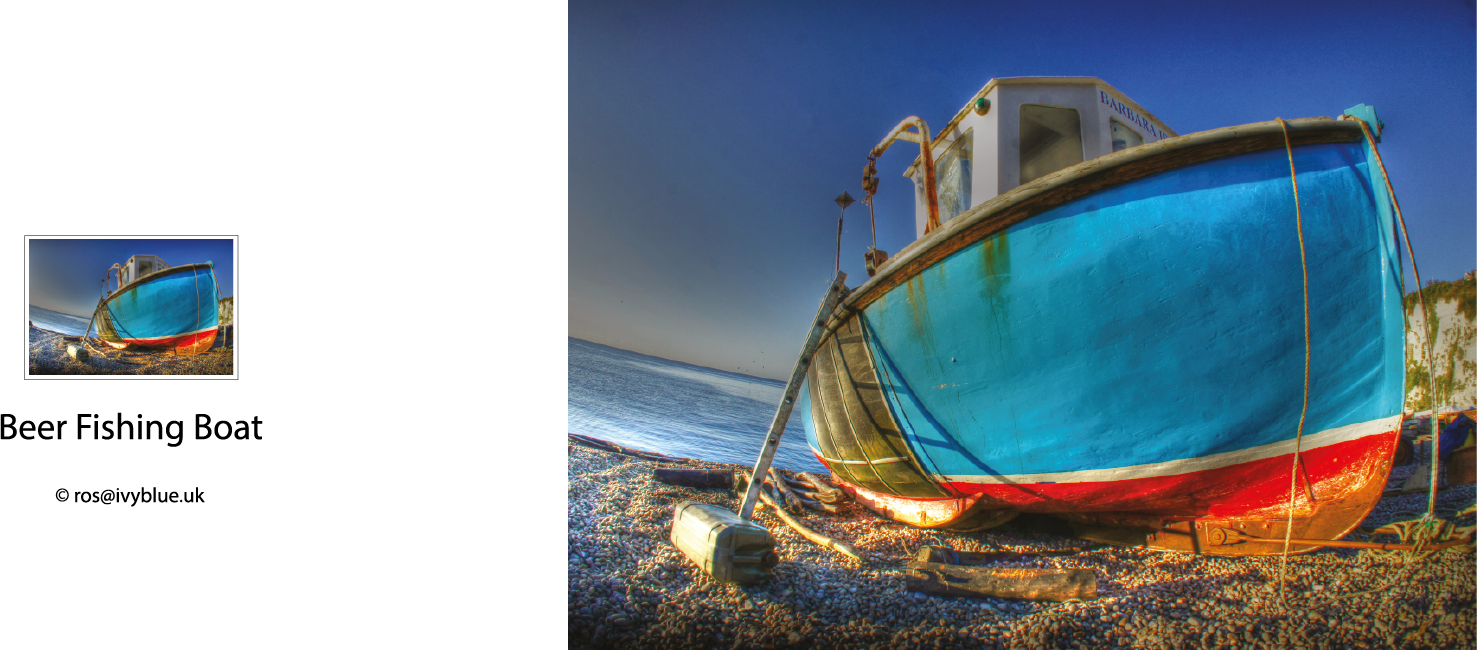 Greeting Card - Boat