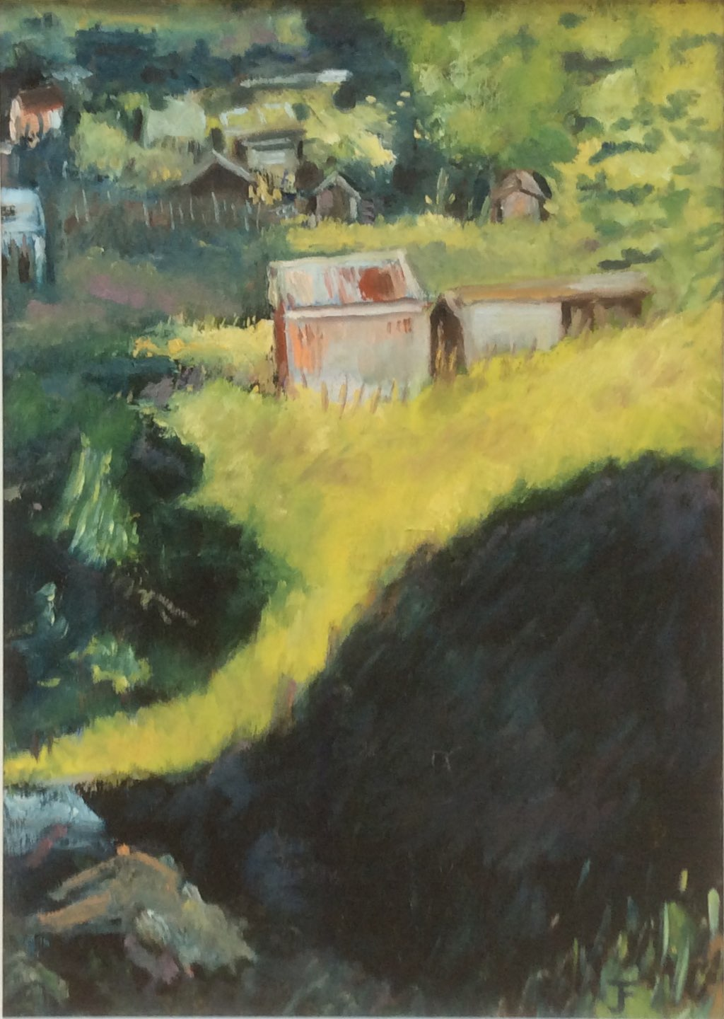 Allotment sheds oil 30x40