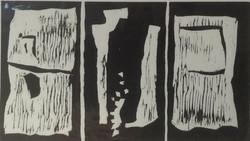 Triptych ink print 30x21