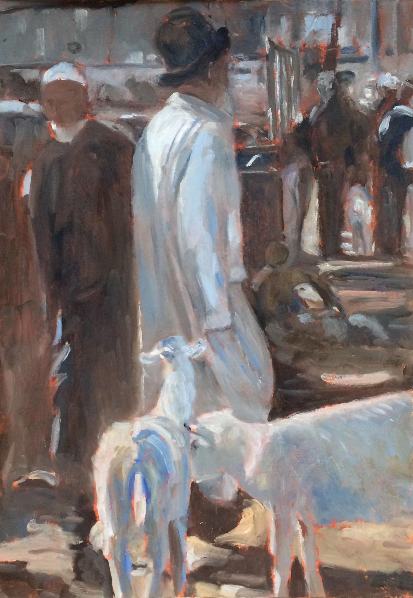 Kashgar market oil 29x41