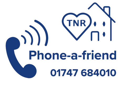 TNR launches new Phone-A-Friend service