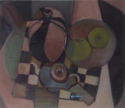 Chequerboard oil 40x35