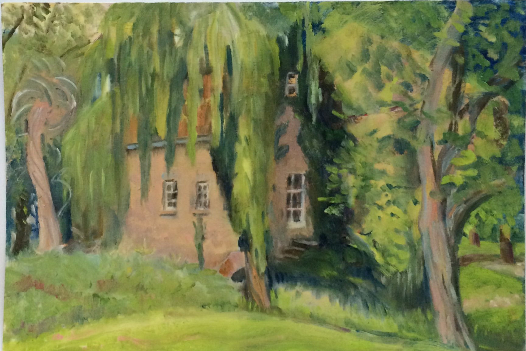 Fletchers house oil 41.4x29
