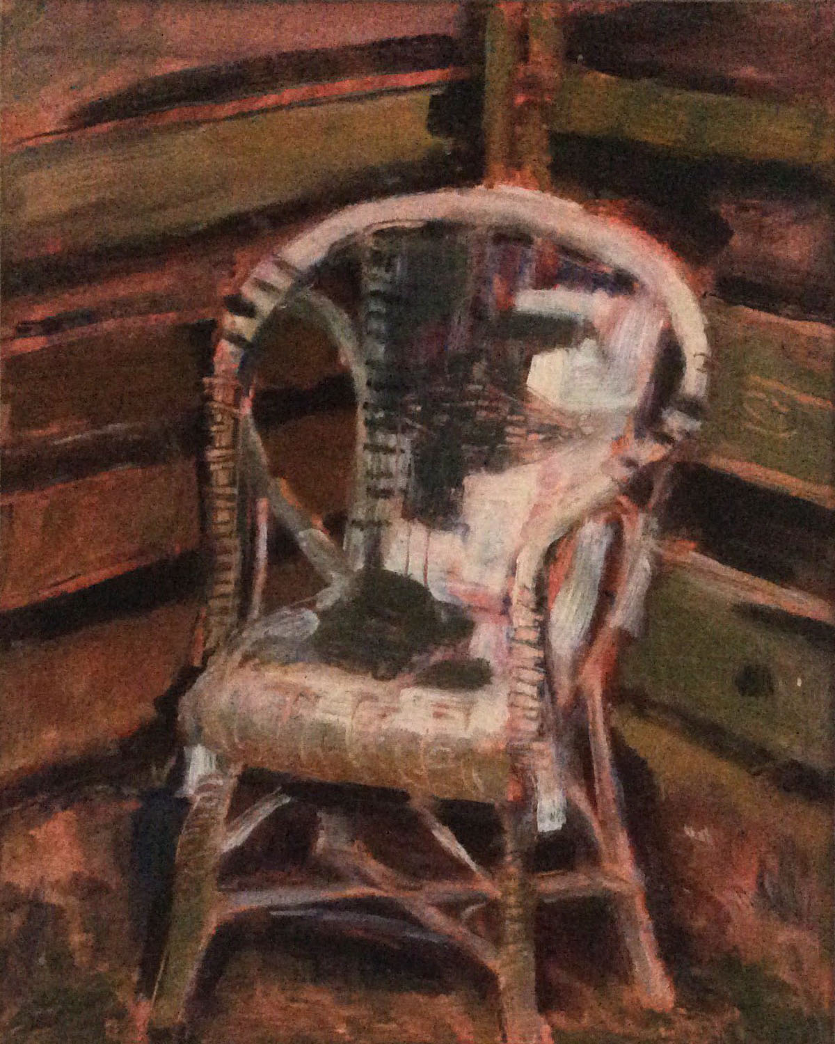 Garden chair oil 30x36