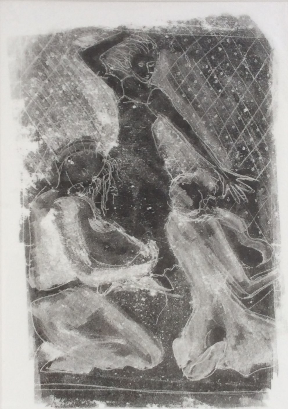 Dancer monoprint 32x43
