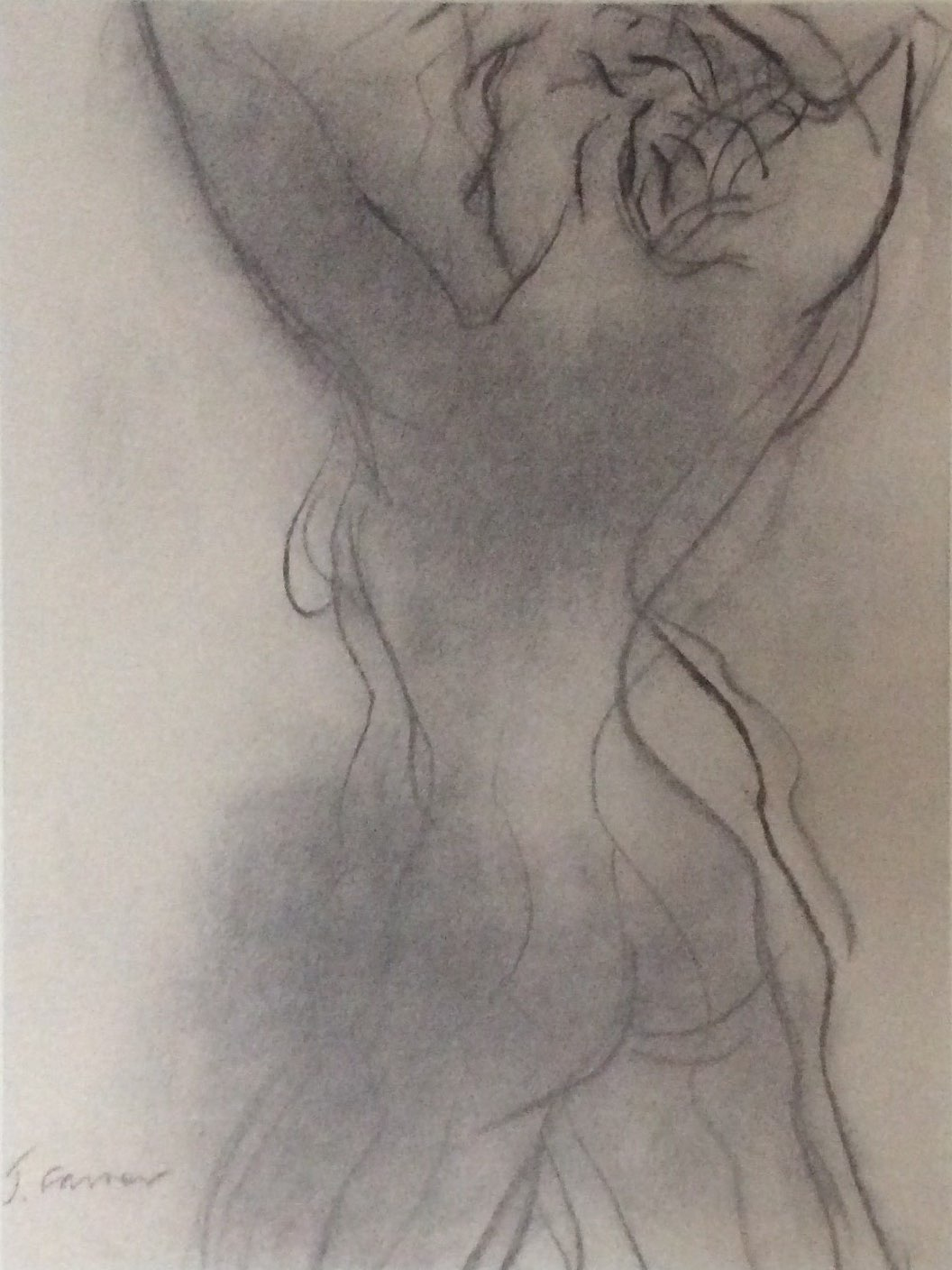 Stretch1 charcoal 38x50