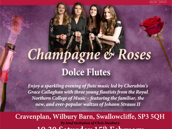 Valentine Flute Extravaganza is almost sold out.