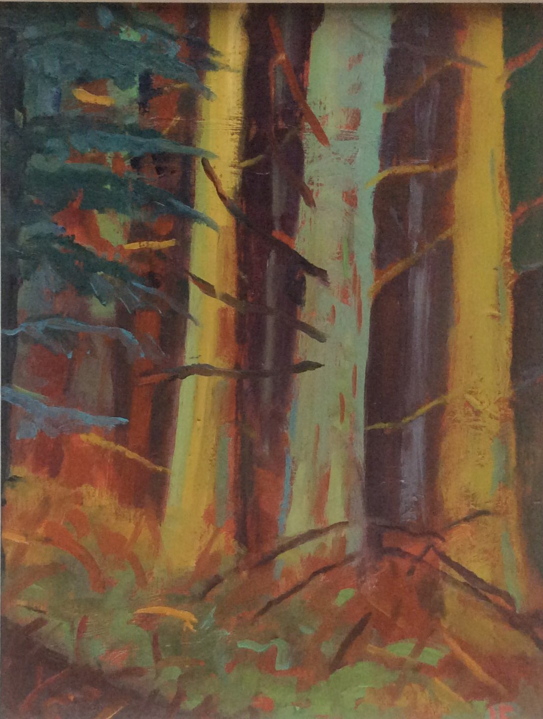 Wardour trees 2 oil 20x26