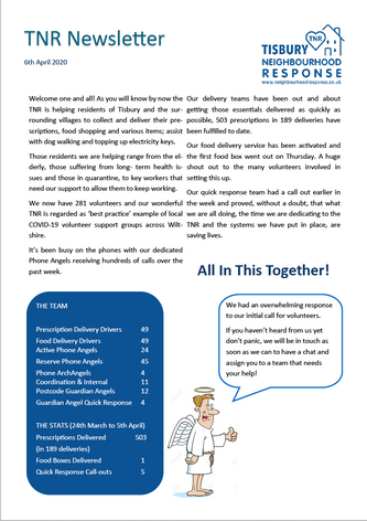 TNR Newsletter