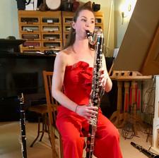 Jenni Moss Bass Clarinet