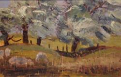 Sheep at Hythe oil