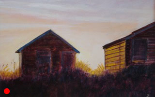 Beach huts SOLD