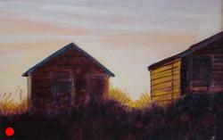 Beach huts SOLD