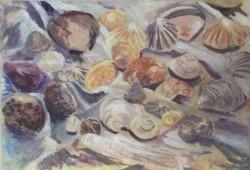 Shells acrylic 58x41