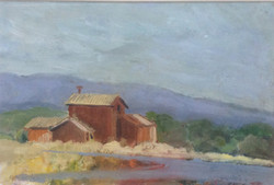 The red house oil 38x26