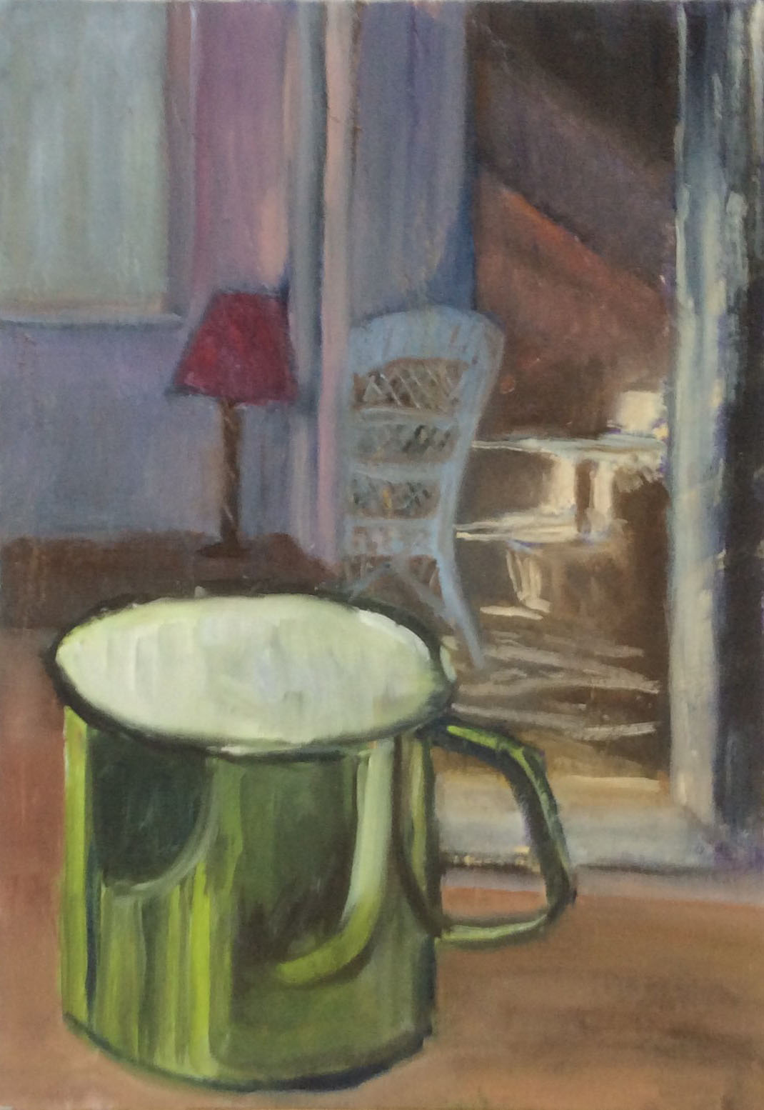 The green mug oil 28x40