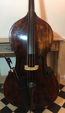 Double Bass – Hungarian 3/4 size with C extn, 'Gabriel Steer'